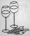 Wine Glasses with Grapes Standard ( 13