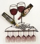 Wine Rack 6A With Red ( 23