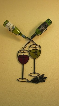 "Wine Rack 30 With color ( 22""w x 30""h x 5""d )"