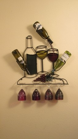 "Wine Rack 45 Full Colors ( 24""w x 34""h x 5""d )"
