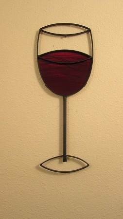 "24"" Red Wine Glass ( 9"" w    x    24"" h )"
